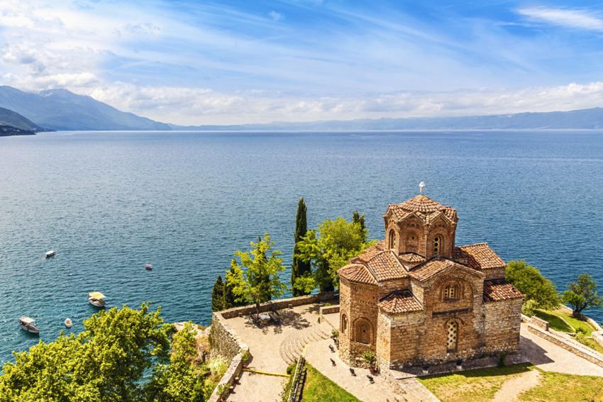 Lago Ohrid (Ocrida) en Macedonia