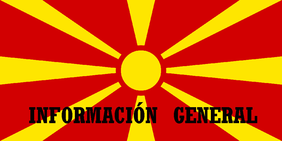 Información general de Macedonia