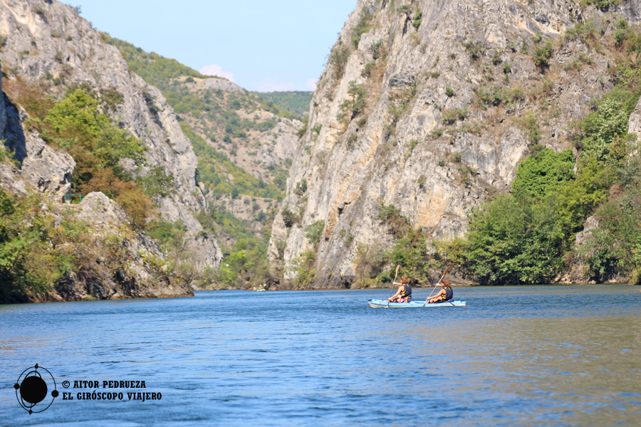 Alquiler de Kayak en el cañón de Matka