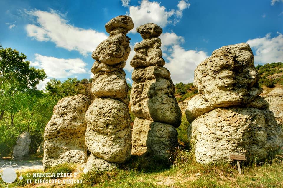 Formaciones Stone Dolls en Kuklica