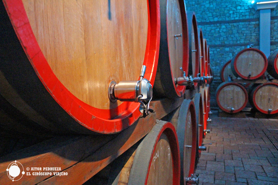 Bodega de vino Stobi