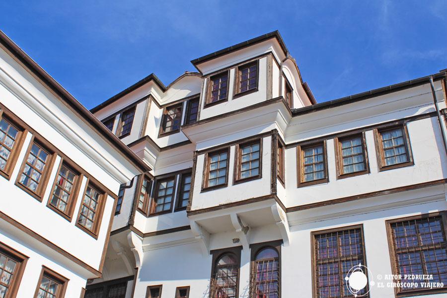 Casas estilo turco del museo Robev
