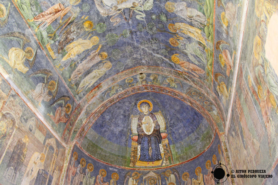 Frescos de Santa Sofía de Ohrid
