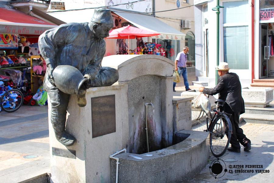 Monumento deHitar Petar en Prilep